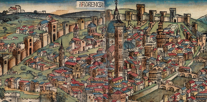 Florence, 'Schedelsche Weltchronik' or 'Nuremberg Chronicle', 1493
